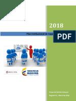 Plan Institucional de Capacitación 2018
