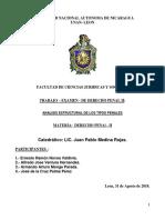 Examen de Derecho Penal II