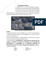 Planteamiento Tecnico Rraccarracca - Llaqtabamba