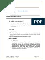 Informe de Campo Geología