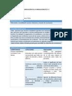FCC - Planificación Unidad 5 - 5to Grado