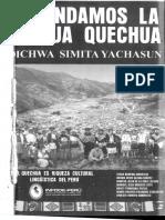 Aprendamos la lengua quechua