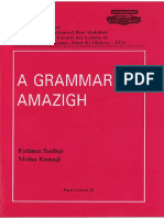 A Grammar of Amazigh