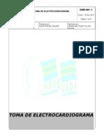 TOMA DE EKG