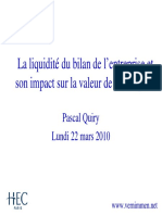 La Liquidite Et Son Impact Sur La Valeur1