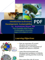 ASEAN Environment Development Sustainability