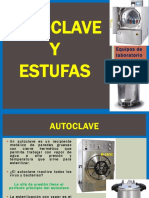 3.- Estufas y Autoclave