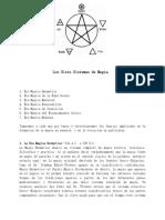 los siete sistemas de magia