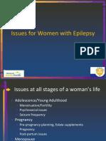 Woman Epilepsy