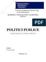 Elaborarea Politicilor Publice
