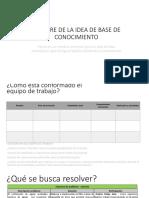 Presentación de Información - Prototipado Actual