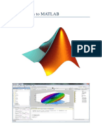 Introduction to Matlab