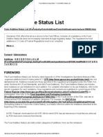 Food Additives & Ingredients _ Food Additive Status List
