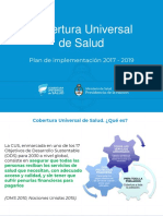 CUS - Plan de Implementación 2017 -2019