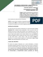 Cas. Lab. N° 22663-2016-Lima (Caso Edver Torres vs. Innova Ambiental S.A.)