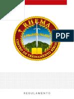 Regulamento Rhema Brasil 2019 Distribuição