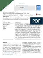 Association Between Ferritin and Hepcidin Levels