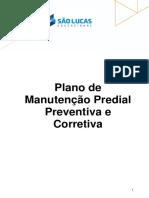 Plano de Manutenção Predial - Faculdade São Lucas Porto Velho