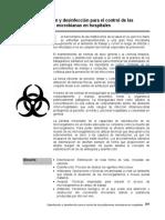 Esterilización y Desinfección Para El Control Microbiano