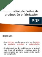 Estimaciones de Produccion
