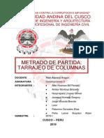 Aller Ambor Huaynapata Jauregui Jorge Leon Palomino Peña Trabajo MetradosCII