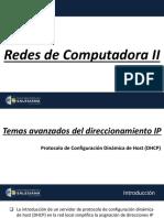 01 - [Redes de Computadoras II] - P54 - Capítulo # 0 - [Presentacion IPV4)
