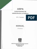 Aspa Descripcion Escalas