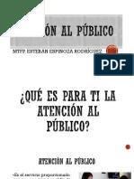 Exposición Atencion Al Publico