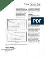 Barite & Hematite Plugs Technology Report