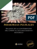 CNMH 3. Memorias Plurales