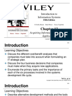 Chapter 13 - Acquiring Information Systems and Applications