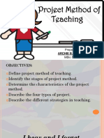 Project Method Report - Manlapaz