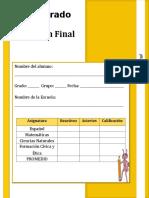 301730134 3er Grado Bloque 4 Examen LAINITAS