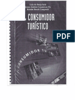 El Consumidor Turístico. Luis de Borja Solé, Josep Andreu Casanovas Pla, Ramón Bosch Camprubí