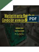 Condition Monitoring, SABADO 16 FEB 2019, ASIMEI Lr