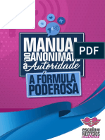 Manual Do Anonimato à Autoridade a Fórmula Poderosa Vídeo 1