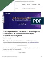 guia sobre auto consciência