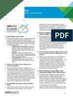 VMware Cloud Verified FAQ