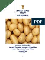 State Wise Potato Prices India