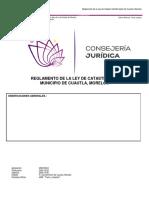 REGLAMENTO DE CATASTRO MPIO. DE CUAUTLA.pdf