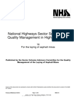 National Highways Sector Schemes for Quality Management in H