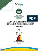 Caratula Acta Quito