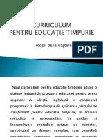 sinteza curriculum invatamantul prescolar