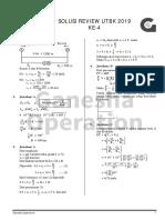 Solusi Review UTBK (Fisika Paket 4)