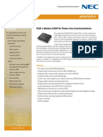 Brief - PLM-1 Modem ASSP for Power Line Communications