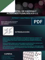 Cocristal de Cafeína y Ácido Acetilsalicílico