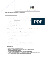 Checklist - Purchase of Flat or Construction