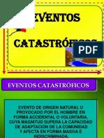 EVENTOS CATASTROFICOS