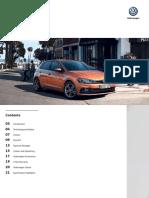 VW Polo Model Brochure MY19