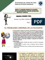 El Problema Cardinal de La Filosofía